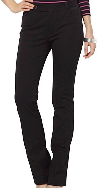 Preload https://img-static.tradesy.com/item/24037057/lauren-ralph-lauren-black-adelle-leg-straight-leg-pants-size-6-s-28-0-1-650-650.jpg