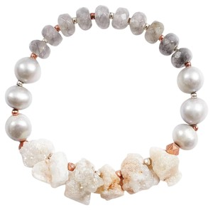 Lucky Brand lucky brand stone and bead bracelet