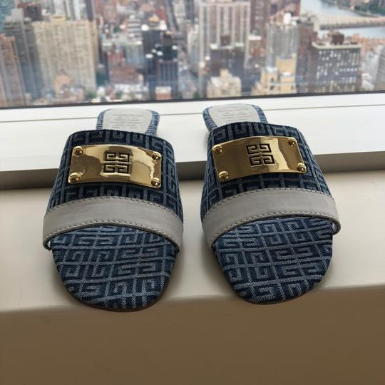 Givenchy blue and white Sandals Image 4