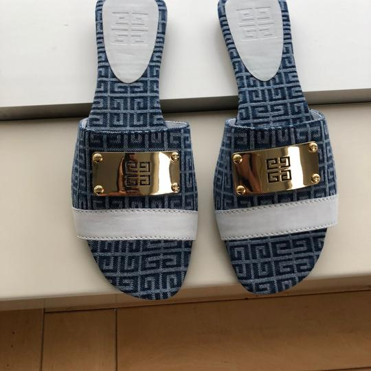 Givenchy blue and white Sandals Image 5