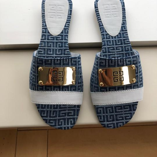 Givenchy blue and white Sandals Image 6