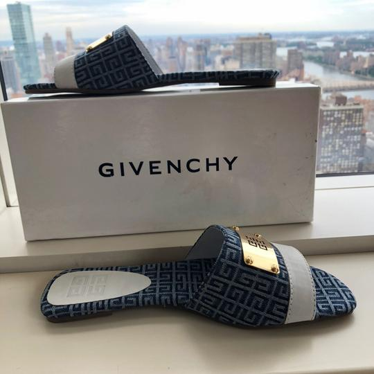 Givenchy blue and white Sandals Image 7