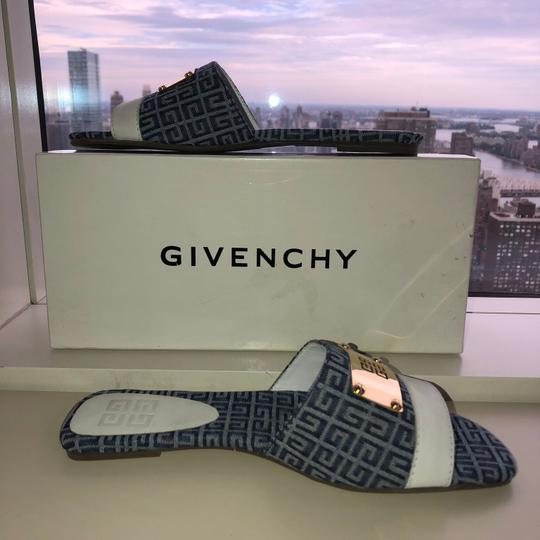Givenchy blue and white Sandals Image 8