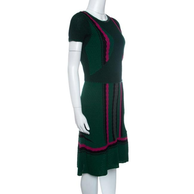 M Missoni short dress Green Textured Polyester on Tradesy Image 2