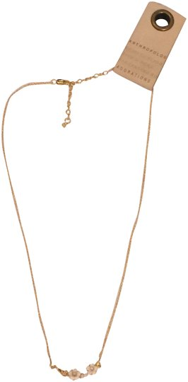 Preload https://img-static.tradesy.com/item/24037227/anthropologie-gold-floral-necklace-0-1-540-540.jpg