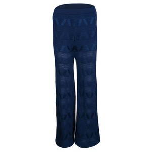 M Missoni Perforated Viscose Trouser/Wide Leg Jeans