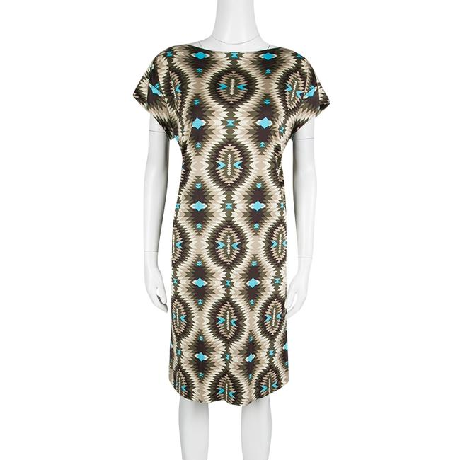 Tory Burch short dress Multicolor Print Silk on Tradesy Image 2