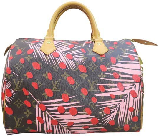 Preload https://img-static.tradesy.com/item/24037369/louis-vuitton-speedy-30-monogram-jungel-brown-and-pink-and-red-canvas-tote-0-1-540-540.jpg