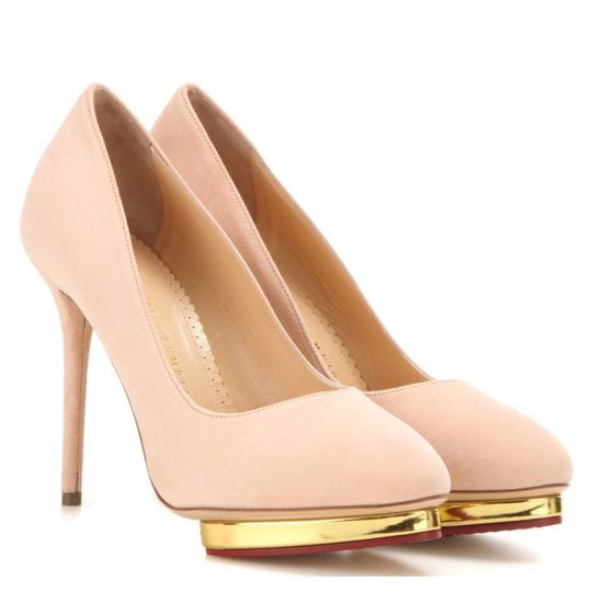Preload https://img-static.tradesy.com/item/24037467/charlotte-olympia-light-pink-debbie-blush-suede-platform-pumps-size-eu-365-approx-us-65-regular-m-b-0-0-540-540.jpg