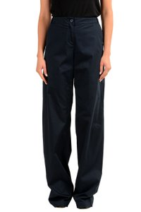 Gianfranco Ferre Wide Leg Pants Blue