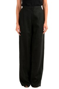Gianfranco Ferre Wide Leg Pants Black