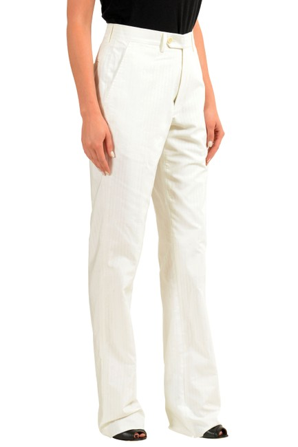 Gianfranco Ferre Straight Pants White Image 1
