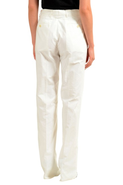 Gianfranco Ferre Straight Pants White Image 2
