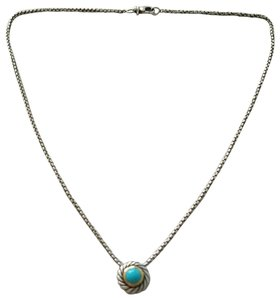 David Yurman David Yurman Cookie Turquoise Necklace