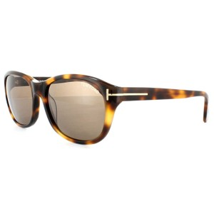 c14be5535b Tom Ford Oval Style Unisex TF0396 52J Brown Lens Sunglasses