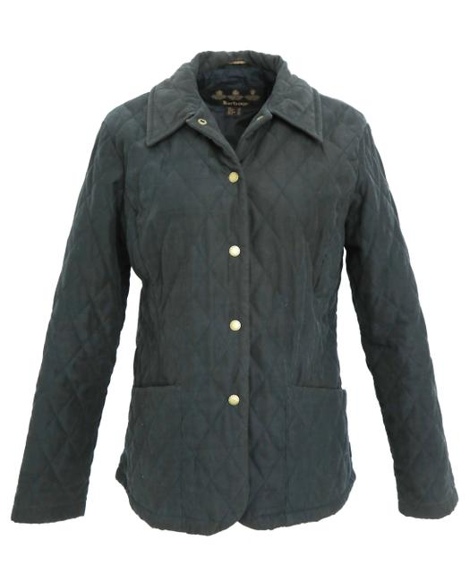 Item - Black Quilted Jacket Size 8 (M)