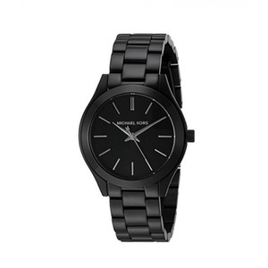 Michael Kors Michael Kors Women's Mini Slim Runway Black Watch MK3587