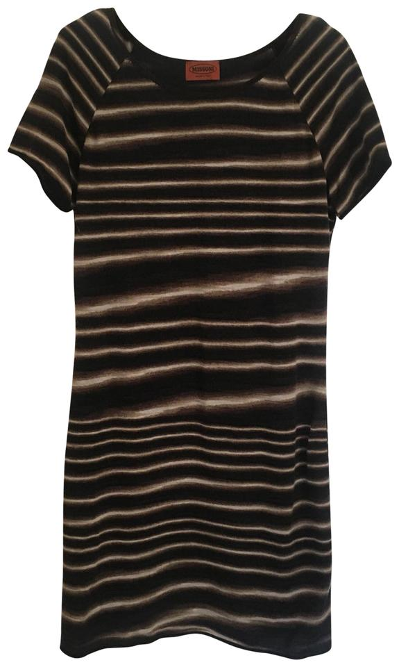 Missoni Black Sheath Short Casual Dress Size 8 (M) - Tradesy 8a5072f49