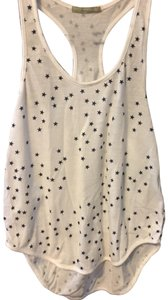 Alternative Apparel Top white with blue stars