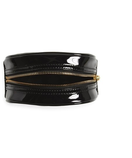 Tory Burch Black Small Patent Case Cosmetic Bag Image 2