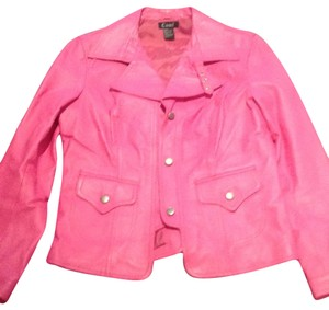 cami nyc pink Leather Jacket