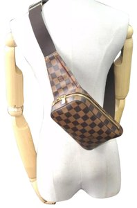 Louis Vuitton Unisex Damier Travel brown Messenger Bag
