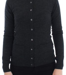 Dolce&Gabbana D13356-1 Women's Wool Button Cardigan Sweater