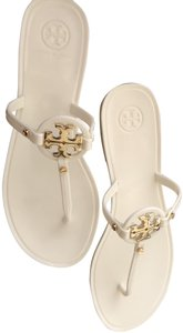 Tory Burch Jelly Ivory Sandals