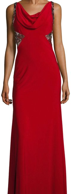 Item - Rich Red 661050 Long Formal Dress Size 6 (S)
