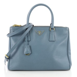 Prada Leather Satchel in blue