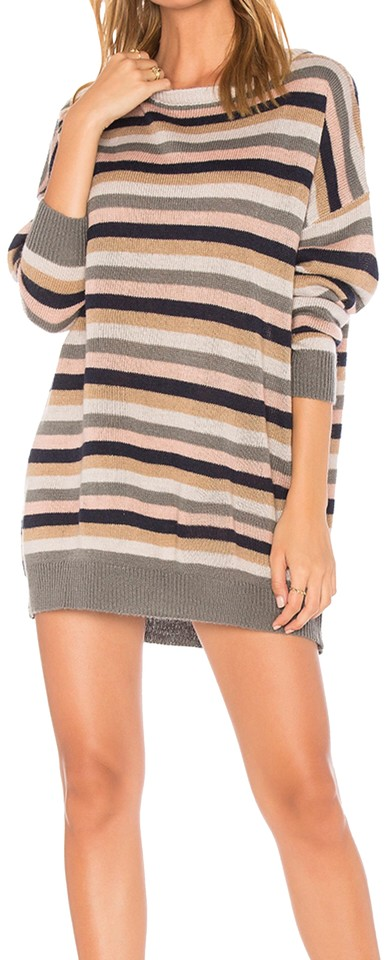 7845bc6eaa8 Tularosa Multicolor Hamptons Sweater Short Casual Dress Size 4 (S ...
