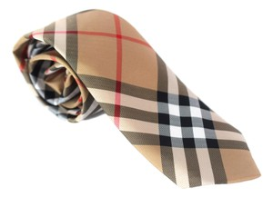 Burberry New Classic Maston Checked Silk Skinny Tie/Bowtie