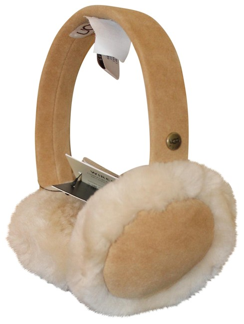 Item - Chestnut Box Tech Wired Shearling Suede Earmuffs Gift Hat