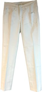 Jag Jeans Straight Pants White