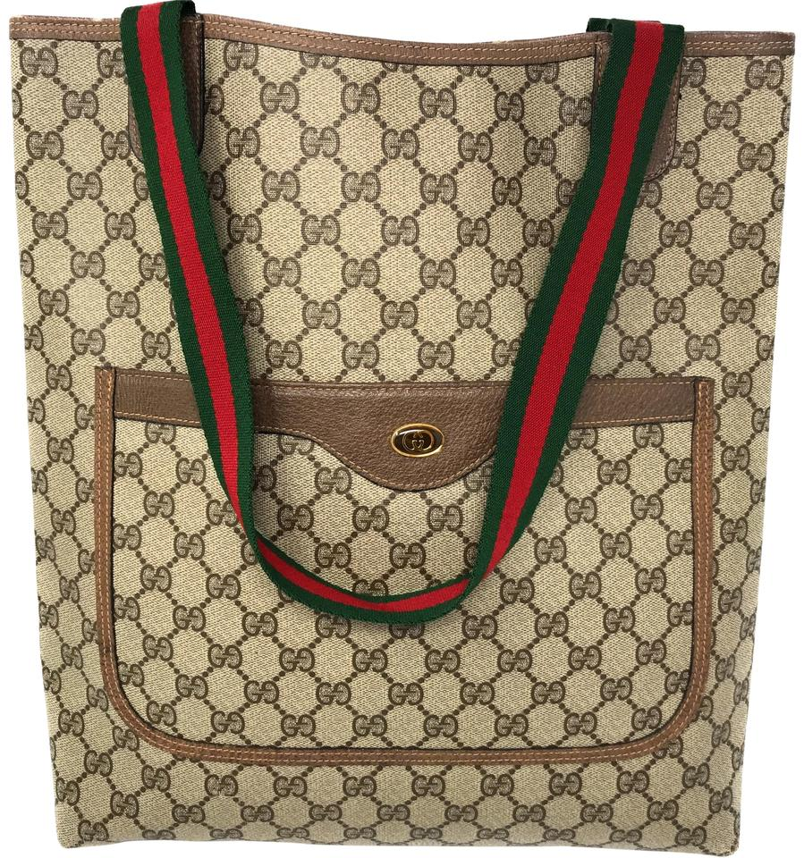 031a7c27d4 Gucci Monogram Shoulder Bags Laptop Bags Weekend Travel Bags Tote in Brown  6342 Image 0 ...