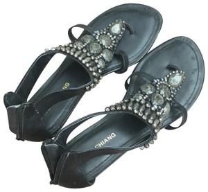Arturo Chiang Navy Sandals