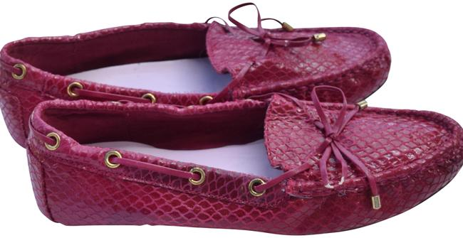 Item - Fuchsia Driver Loafers Flats Size US 8.5 Regular (M, B)