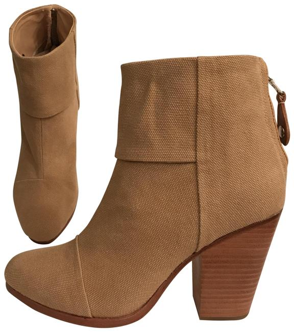 Item - Beige Taupe New    Classic Newbury Canvas Boots/Booties Size EU 40 (Approx. US 10) Regular (M, B)