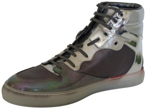 Balenciaga Sneakers Hitop Silver / Grey Athletic