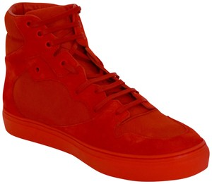 Balenciaga Sneakers Hitop Red Athletic