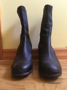 Fiorentini + Baker Stretch Leather Black Boots