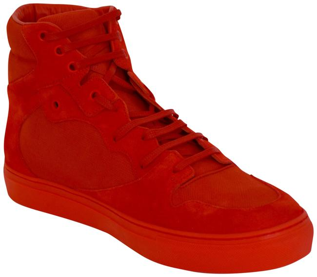 Item - Red New Hitop Suede Leather Eu 39 Mens Sneakers Size US 6 Regular (M, B)