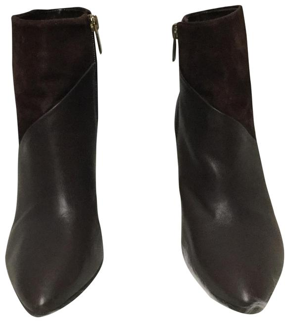 Item - Brown Leather and Suede Boots/Booties Size US 7.5 Regular (M, B)