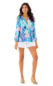 Lilly Pulitzer Top Jet Stream