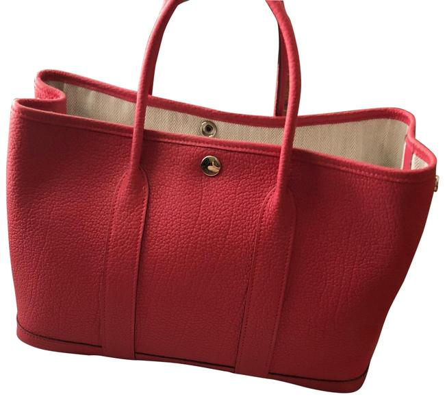 Hermès Garden Party Red Tote Hermès Garden Party Red Tote Image 1