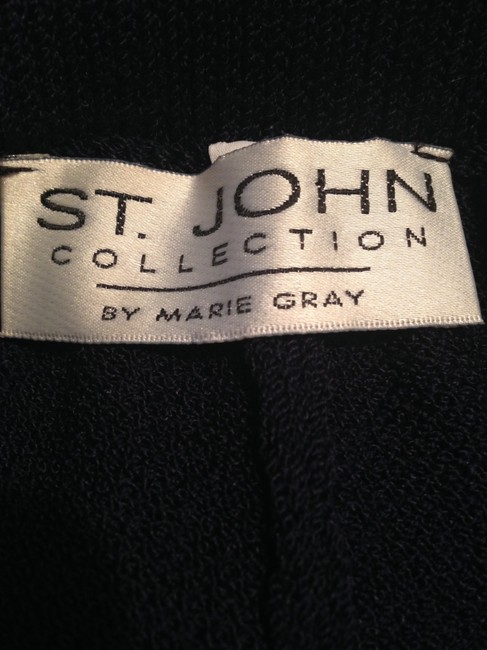 St. John Relaxed Pants Navy Image 3