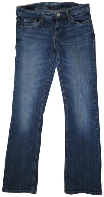 Preload https://img-static.tradesy.com/item/24042829/aeropostale-blue-distressed-chelsea-style-faded-worn-stretchy-low-rise-denim-boot-cut-jeans-size-29-0-1-650-650.jpg