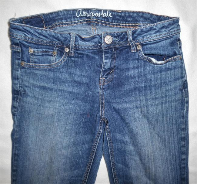 Aéropostale Stretch Lowrise Boot Cut Jeans-Distressed Image 1
