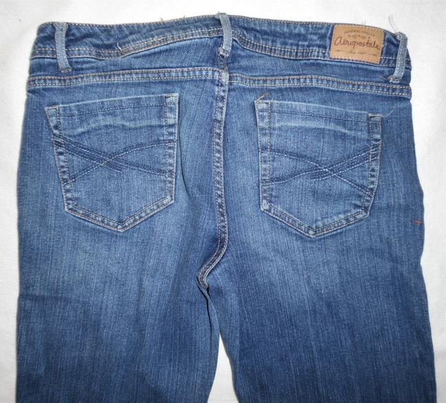 Aéropostale Stretch Lowrise Boot Cut Jeans-Distressed Image 4
