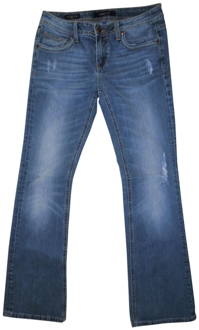 Preload https://img-static.tradesy.com/item/24042855/vigoss-blue-distressed-the-new-york-style-faded-low-rise-stretchy-denim-boot-cut-jeans-size-30-6-m-0-1-650-650.jpg
